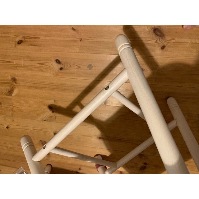 ニトリ(ニトリ)の[幅120cm] ダイニングテーブルセット ニトリ インテリア/住まい/日用品の机/テーブル(ダイニングテーブル)の商品写真