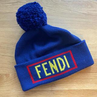 フェンディ(FENDI)のFENDI ニット帽(ニット帽/ビーニー)