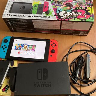 Nintendo Switch - Nintendo Switch スプラトゥーン2 セット 動作品