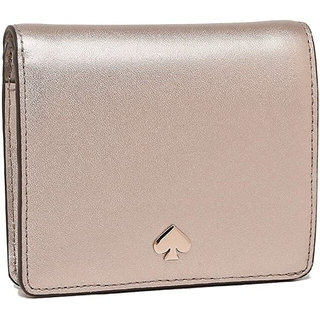 kate spade new york - 新品未使用 Kate Spade newyork 二つ折り財布 ピンクゴールド
