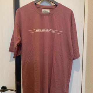 アングリッド(Ungrid)の新品未使用 Ungrid オーバーサイズ Tシャツ ビッグTシャツ フリーサイズ(Tシャツ(半袖/袖なし))
