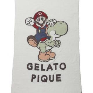 gelato pique - ジェラートピケ マリオ&ヨッシー ブランケット