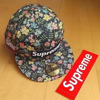 Supreme - supreme Liberty Floral Box Logo キャップ