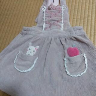coeur a coeur - クーラクール ジャンパースカート 90 中古品