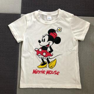 ディズニー(Disney)のDisney  ミニーTシャツ 120cm 女の子(Tシャツ/カットソー)