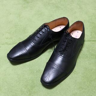 オリヒカ(ORIHICA)の25cm【未使用】ORIHICA オリヒカ 紳士革靴 黒(中敷き無し)(ドレス/ビジネス)
