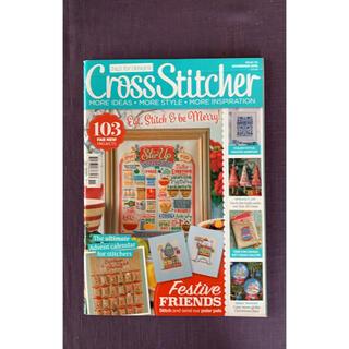 Cross stitcher 雑誌 英語 クリスマス