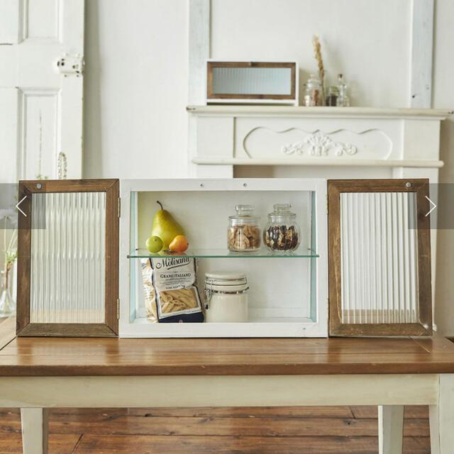 【アンティークなキャビネット】1点 インテリア/住まい/日用品の収納家具(棚/ラック/タンス)の商品写真