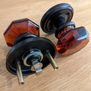 イケア(IKEA)の【DIY、造作建具に】EMTEK 輸入ドアノブ空錠(その他)