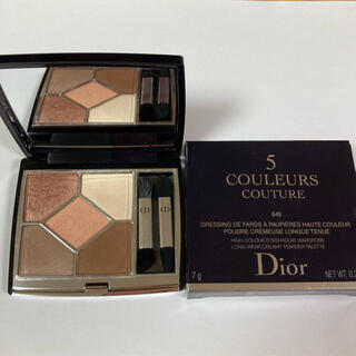 Dior - ディオール サンク クルール アイシャドウ 649 ヌードドレス