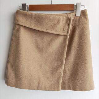 ドゥーズィエムクラス(DEUXIEME CLASSE)のDeuxieme Classe ラップスカート ベージュ(ひざ丈スカート)