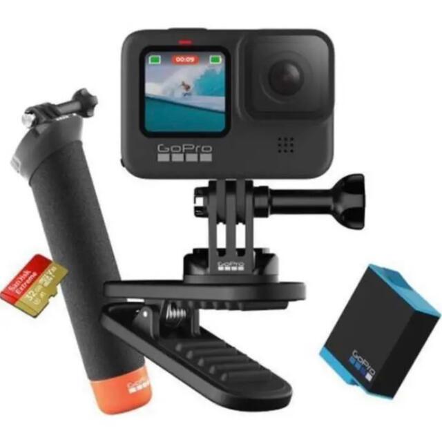 GoPro(ゴープロ)のGoPro HERO9  BLACK 限定バンドルセット!アクションカム! スマホ/家電/カメラのカメラ(ビデオカメラ)の商品写真