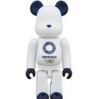 BE@RBRICK ベアブリック 100%(東京2020オリンピックエンブレム)(その他)