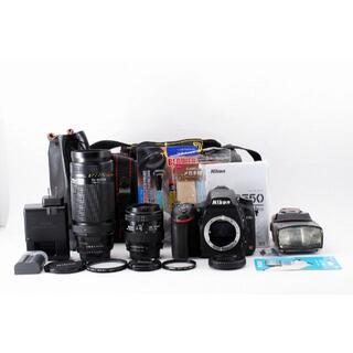 ニコン(Nikon)の937【安心保証】ショット少! Nikon D750 ダブルズームレンズ(デジタル一眼)