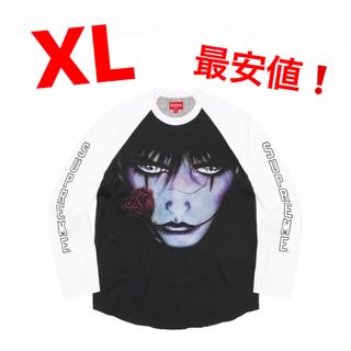 Supreme - Supreme The Crow Raglan L/S Top クロウ XL