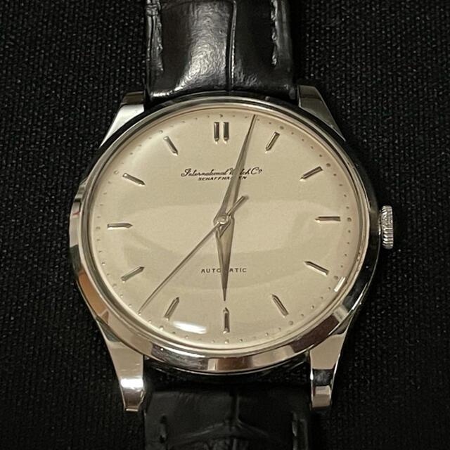 IWC(インターナショナルウォッチカンパニー)のIWC オールドインター 手巻き メンズの時計(腕時計(アナログ))の商品写真