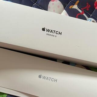 Apple Watch - Apple Watch series3 38㎜