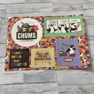 チャムス(CHUMS)のCHUMS ステッカー(ノベルティグッズ)