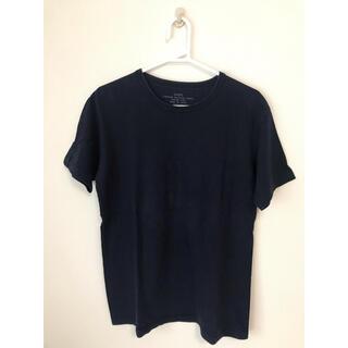 シップス(SHIPS)のシップス Tシャツ Mサイズ ネイビー(Tシャツ/カットソー(半袖/袖なし))