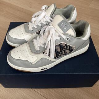 ディオール(Dior)のDIOR ディオール ロートップ スニーカー  靴 レシート付き(スニーカー)