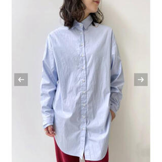 L'Appartement DEUXIEME CLASSE - 新品未試着◆L'Appartement◆ BF SHIRTS・ブルーA