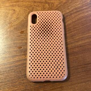 ニコアンド(niko and...)のAND MESH iPhone X カバー 軽量 放熱(iPhoneケース)