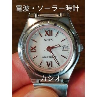 カシオ(CASIO)のB14 カシオ・ウェーブセプター   電波・ソーラー時計 デイト(腕時計)