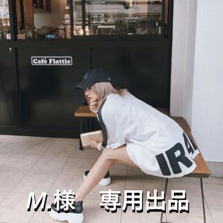 レディー(Rady)のIRAL  over logo T-shirt(Tシャツ/カットソー(半袖/袖なし))