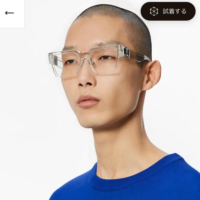 LOUIS VUITTON(ルイヴィトン)のlouis vuitton ミリオネア サングラス メンズのファッション小物(サングラス/メガネ)の商品写真