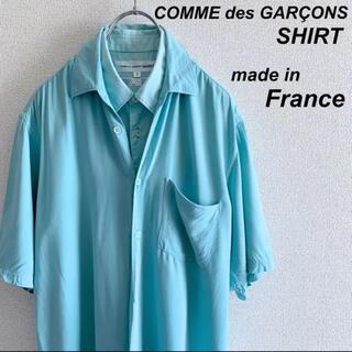COMME des GARCONS HOMME PLUS - COMME des GARCONS SHIRT  製品染め レイヤードシャツs