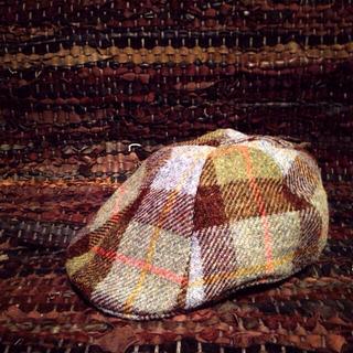 トゥモローランド(TOMORROWLAND)のハリスツウィード チェックハンチング(ハンチング/ベレー帽)
