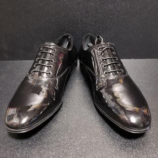 サルヴァトーレフェラガモ(Salvatore Ferragamo)のフェラガモ(Savatore Ferragamo) イタリア製革靴 黒 7EEE(ドレス/ビジネス)
