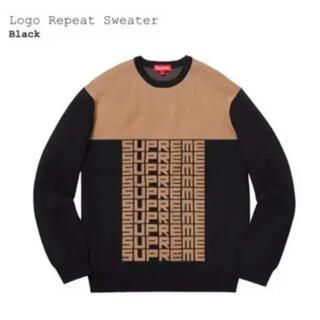 Supreme - supreme  logo repeat sweater FENDI カラー