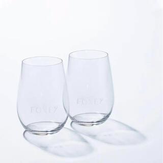 フォクシー(FOXEY)のフォクシー ノベルティ リーデル ペアワイングラス 未使用未開封 新品(グラス/カップ)
