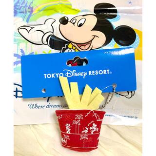 Disney - ディズニーリゾート パークフードグッズ ポテト ぬいぐるみバッヂ