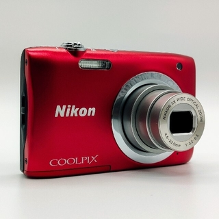 Nikon - Nikon COOLPIX クールピクス A100 レッド SD32GB付き