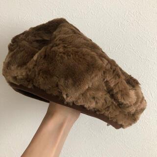 ビューティアンドユースユナイテッドアローズ(BEAUTY&YOUTH UNITED ARROWS)のファー ベレー帽(ハンチング/ベレー帽)