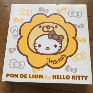 サンリオ(サンリオ)のPON DE LION ハローキティ カレー皿(ノベルティグッズ)