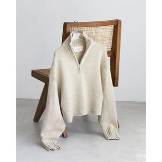 TODAYFUL - todayful Wool Zip Knit