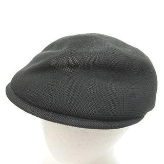 Gucci - グッチ GUCCI 牛革 × メッシュ ハンチング 帽 XL