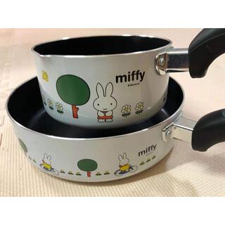 MIFFY アルミ 片手鍋 フライパン24cm
