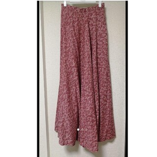 Lochie - vintage ロングスカート 花柄 ピンク ravirlevant
