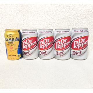 コカ・コーラ - ドクターペッパー ダイエット プレミアムモルツ 炭酸飲料 糖質カロリーゼロ お酒