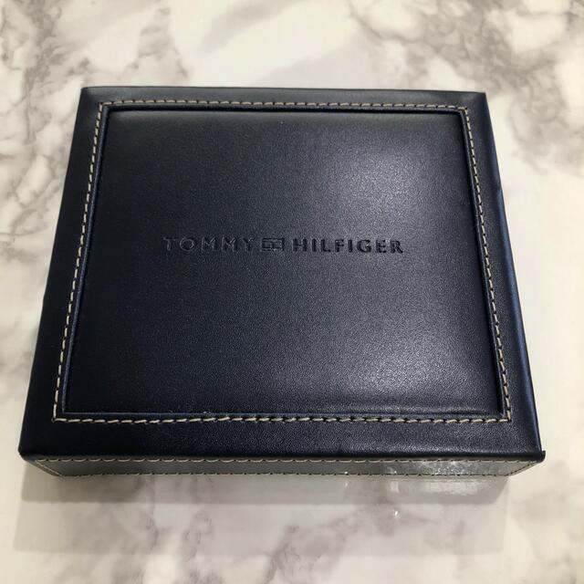 TOMMY HILFIGER(トミーヒルフィガー)のTOMMY HILFIGER 二つ折り財布 31TL25X014 ブラック メンズのファッション小物(折り財布)の商品写真