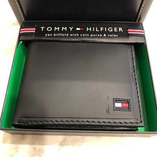 TOMMY HILFIGER - TOMMY HILFIGER 二つ折り財布 31TL25X014 ブラック