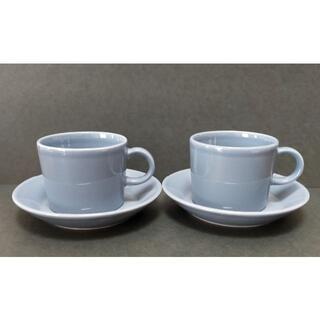 iittala - イッタラ ティーマ コーヒー カップ&ソーサー グレー 2セット