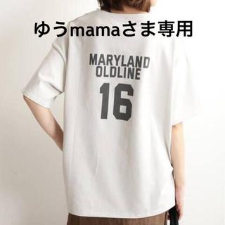 イエナスローブ(IENA SLOBE)のslobe iena カレッジロゴTシャツ(Tシャツ(半袖/袖なし))