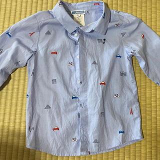 Jacadi - JACADI 36M ブルーシャツ