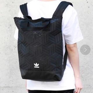 adidas - アディダス adidas ロールトップ バックパック ブラック