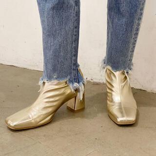 アングリッド(Ungrid)のungrid  ストレッチフィットブーツ Lサイズ(ブーツ)